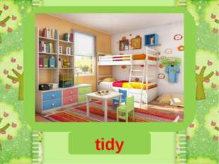 untidy tidy