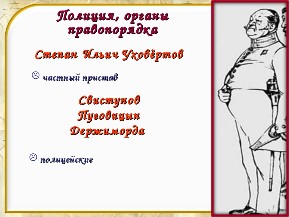 Полиция, органы правопорядка Степан Ильич Уховёртов частный пристав Свистунов...