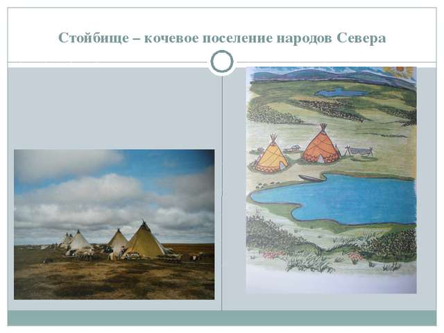 Стойбище – кочевое поселение народов Севера