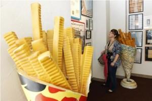 Музей жаренной картошки в Брюгге