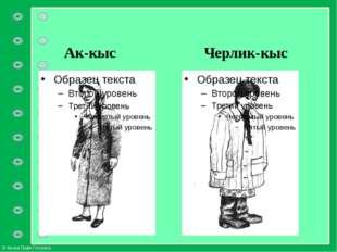 Ак-кыс Черлик-кыс © Фокина Лидия Петровна