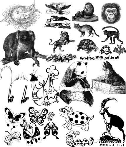 Графические изображения животных