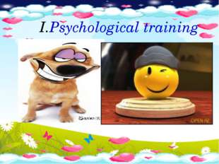 Psychological training