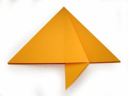 оригами из бумаги. Елочка новогодняя