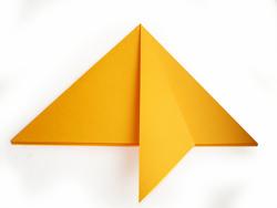 оригами из бумаги. Елочка к новому году