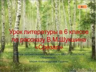 Учитель русского языка и литературы МБОУ «СОШ №1» г.Мариинска Мария Александр