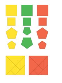 Математика. 1 класс. Разрезной дидактический материал к учебнику