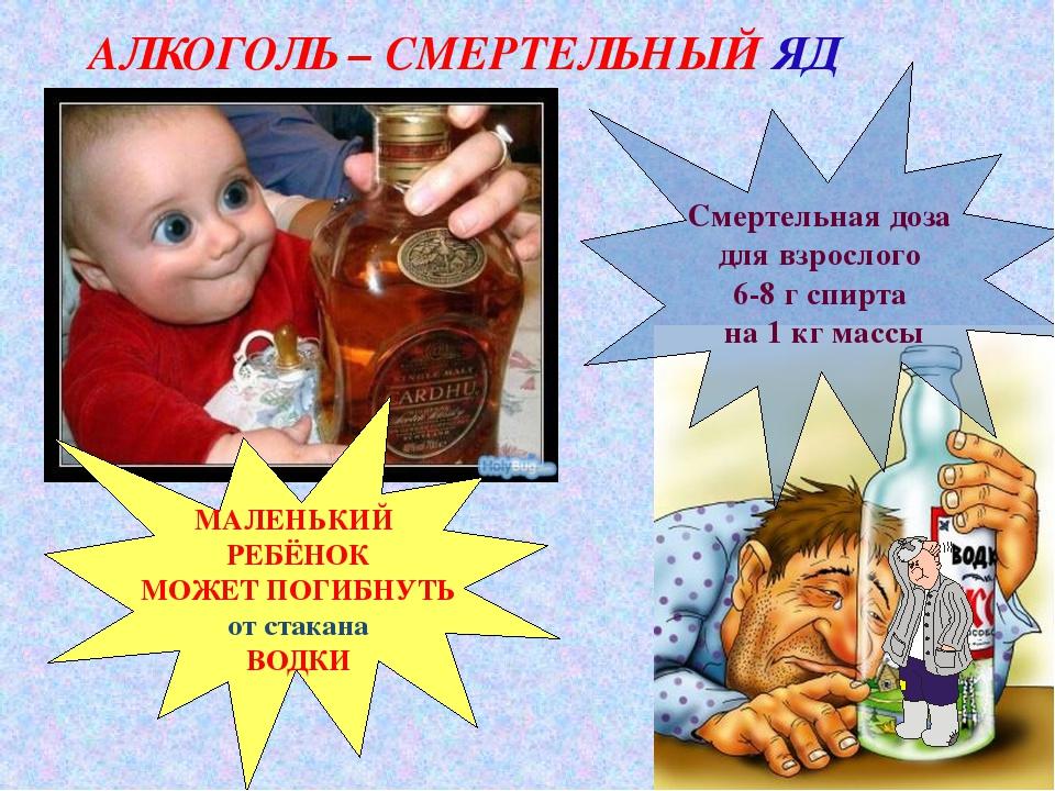 МАЛЕНЬКИЙ РЕБЁНОК МОЖЕТ ПОГИБНУТЬ от стакана ВОДКИ Смертельная доза для взро...