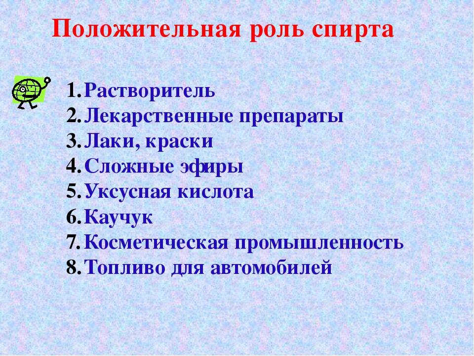 Растворитель Лекарственные препараты Лаки, краски Сложные эфиры Уксусная кисл...