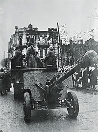 Январь 43-го. Пятигорчане встречают воинов-освободителей.