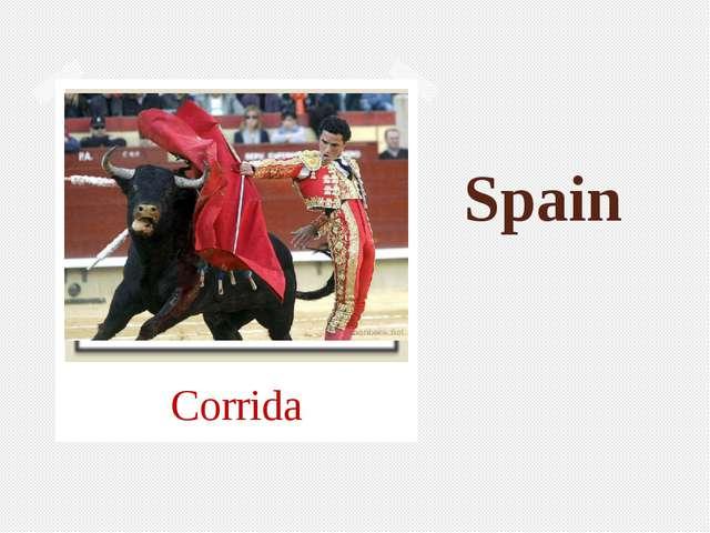 Spain Corrida