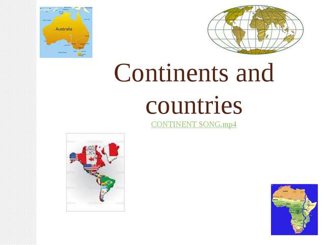 Continents and countries CONTINENT SONG.mp4