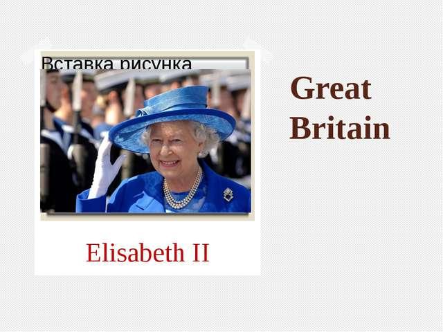 Great Britain Elisabeth II