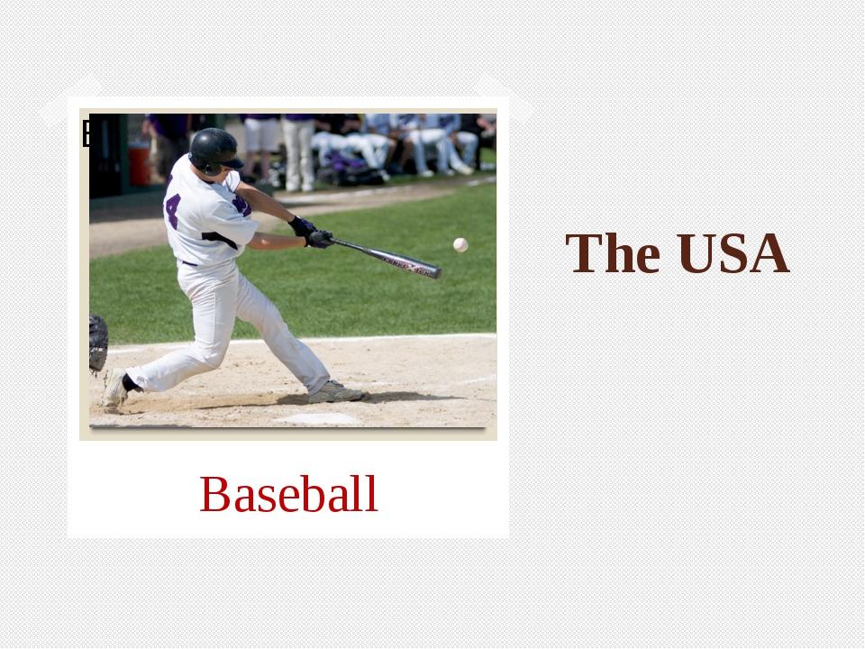 The USA Baseball
