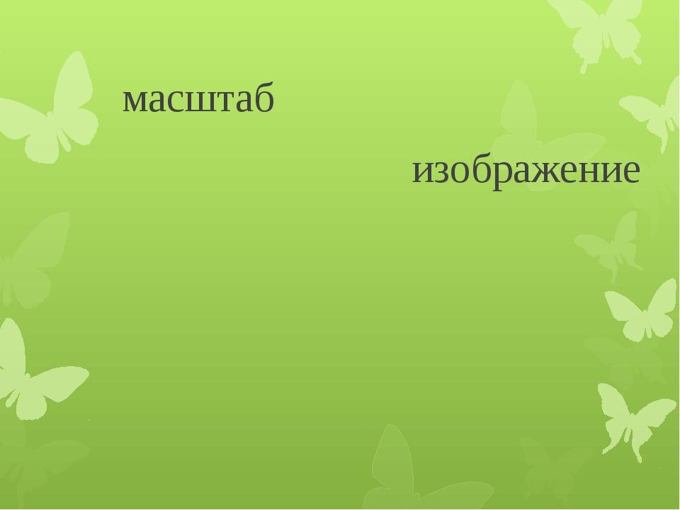 масштаб изображение