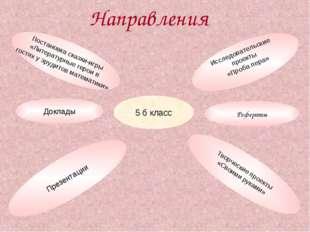 Направления 5 б класс Доклады Презентации Исследовательские проекты «Проба пе