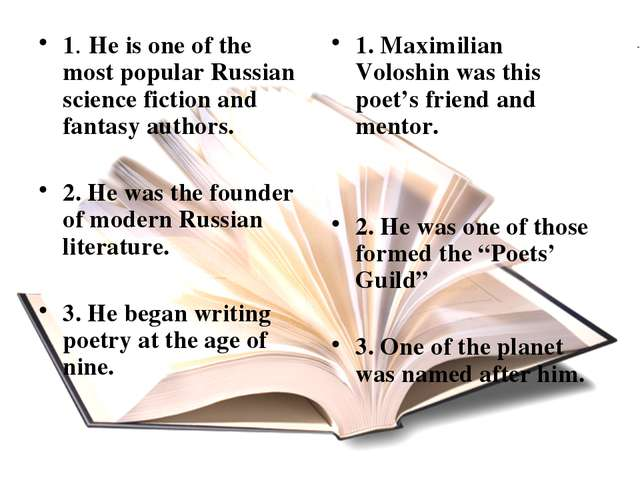 1. He is one of the most popular Russian science fiction and fantasy authors....