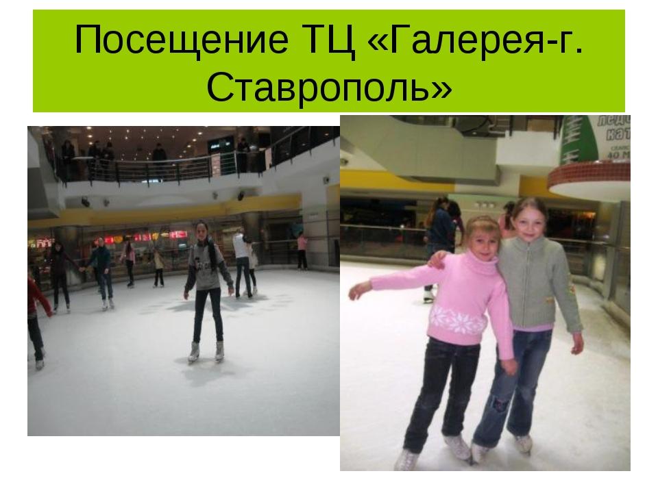 Посещение ТЦ «Галерея-г. Ставрополь»