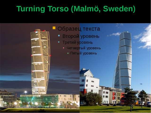 Turning Torso (Malmö, Sweden)