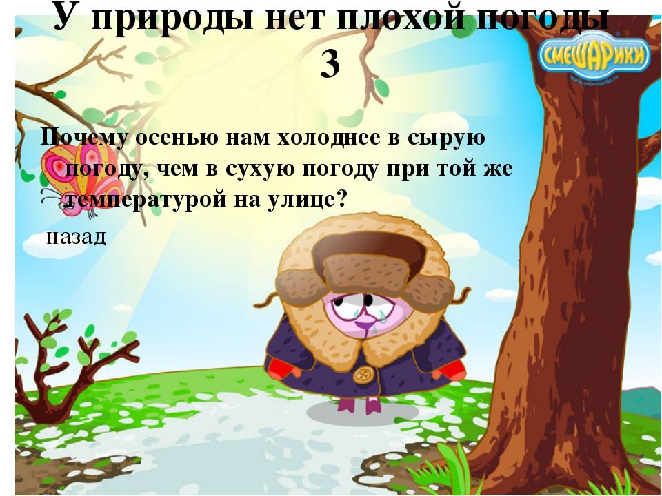 У погоды нет плохой погоды картинки анимация