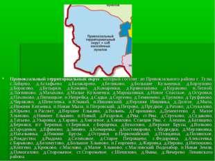 Привокзальный территориальный округ, который состоит: из Привокзального район