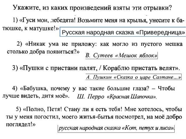 Русская народная сказка «Привередница»