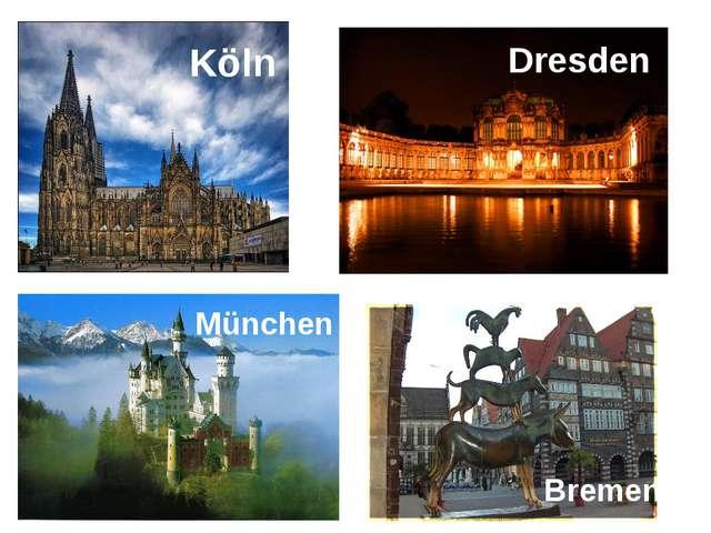Köln Dresden München Bremen