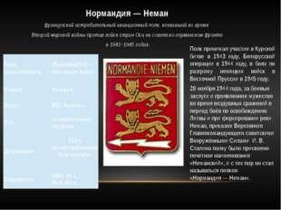 Полк принимал участие в Курской битве в 1943 году, Белорусской операции в 194