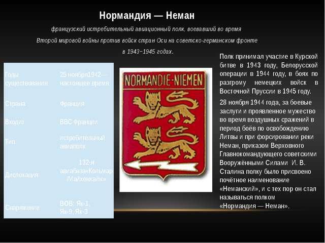 Полк принимал участие в Курской битве в 1943 году, Белорусской операции в 194...