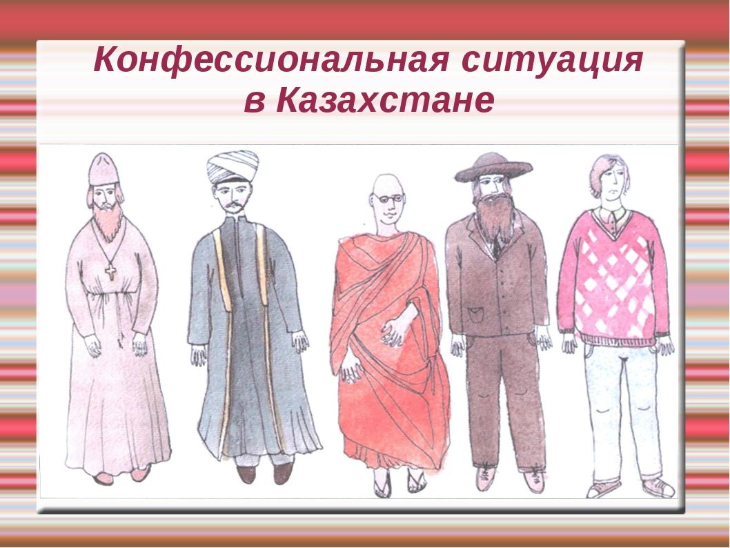 Конфессиональная ситуация в Казахстане