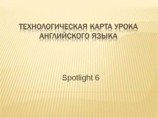 Spotlight 6