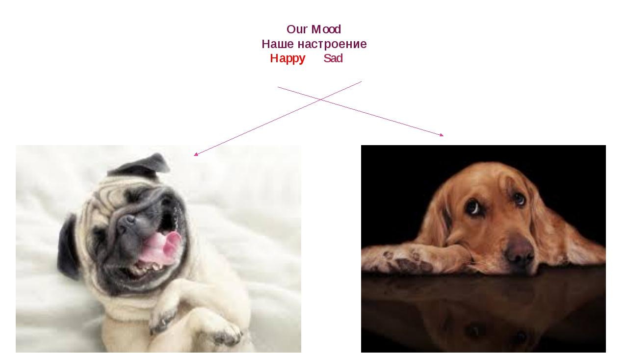 Our Mood Наше настроение Happy Sad