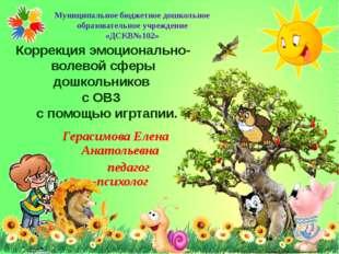 Муниципальное бюджетное дошкольное образовательное учреждение «ДСКВ№102» Корр
