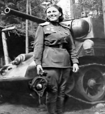 Женщины-танкисты Великой Отечественной войны Любители истории