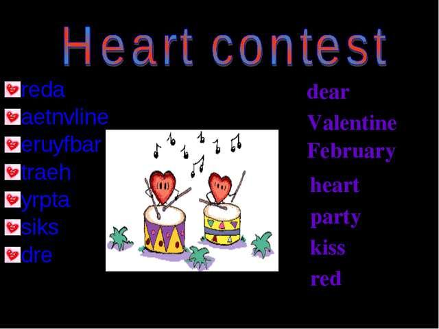 reda aetnvline eruyfbar traeh yrpta siks dre dear Valentine February heart pa...