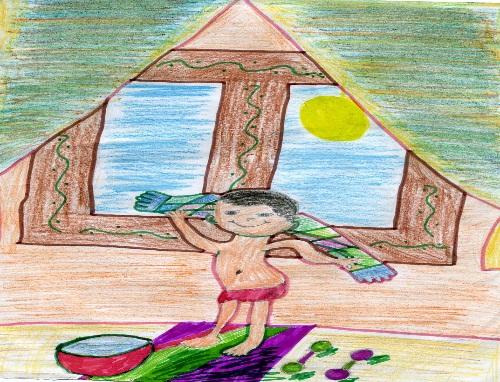Детский рисунок на тему здоровья актуальные решебники, кроссворд на тему туризм