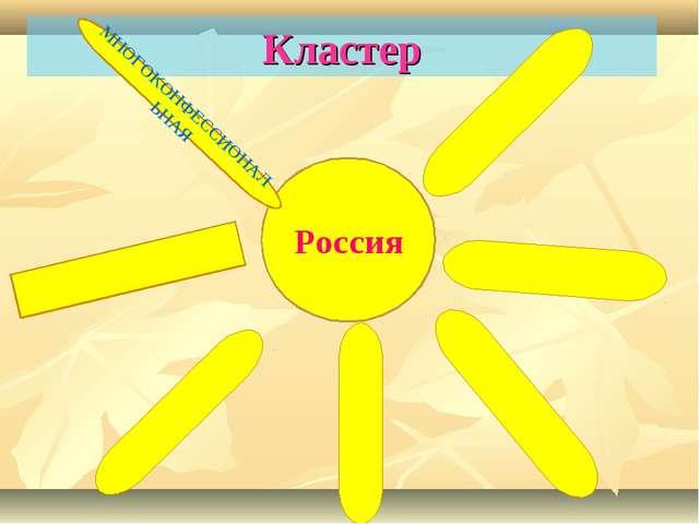 Кластер Россия МНОГОКОНФЕССИОНАЛЬНАЯ