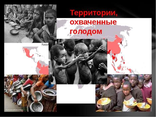 Территории, охваченные голодом