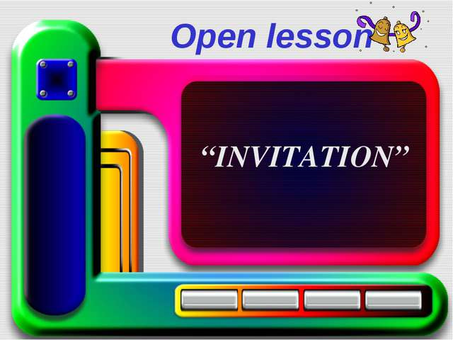 """Open lesson """"INVITATION"""""""