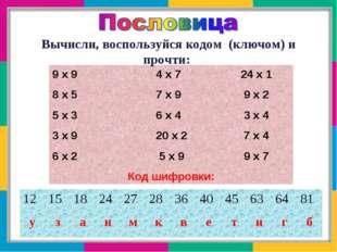 9 х 9 4 х 7 24 х 1 8 х 5 7 х 9 9 х 2 5 х 3 6 х 4 3 х 4 3 х 9 20 х 2 7 х 4 6 х