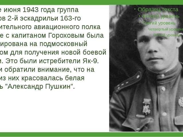 """""""ХОРОША МАШИНА!"""" В конце июня 1943 года группа летчиков 2-й эскадрильи 163-го..."""