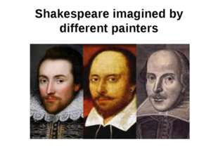 Shakespeare imagined by different painters