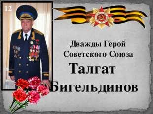 Дважды Герой Советского Союза Талгат Бигельдинов 12