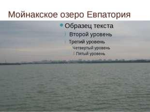 Мойнакское озеро Евпатория