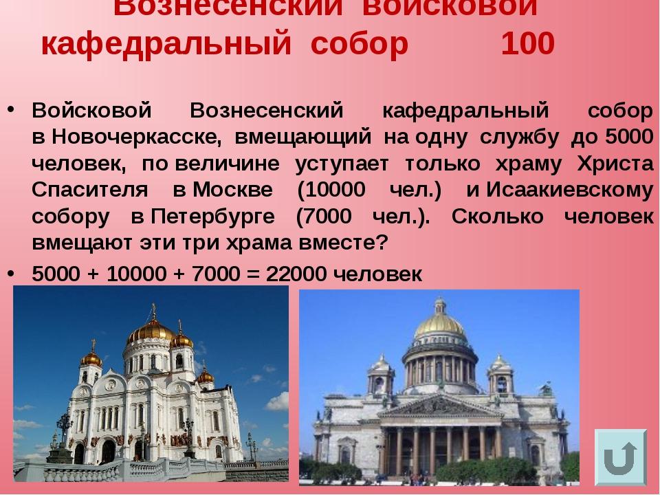Вознесенский войсковой кафедральный собор 100 Войсковой Вознесенский кафедрал...