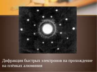 Интерференция электронов а б Интерференционные картины от двух щелей, получен