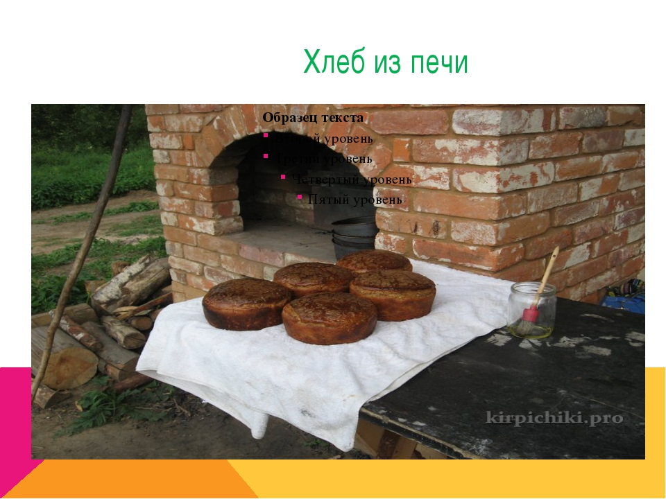Хлеб из печи