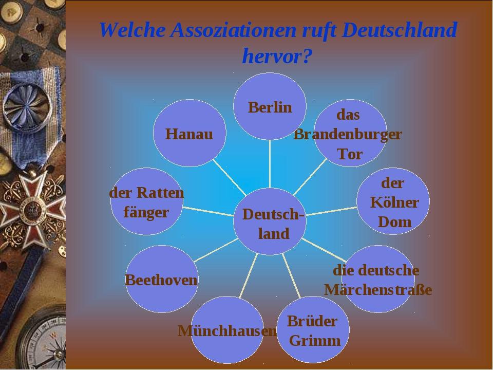 Welche Assoziationen ruft Deutschland hervor? Deutsch- land