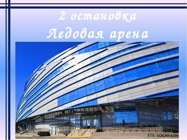 2 остановка Ледовая арена «Шайба»