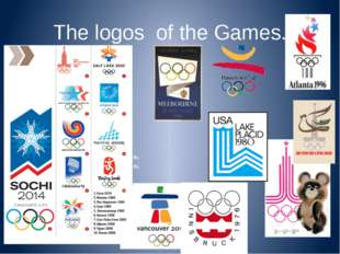 The logos of the Games.